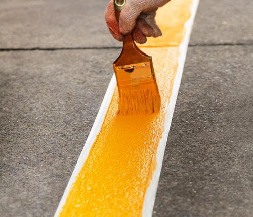 Peinture de sol antidérapante