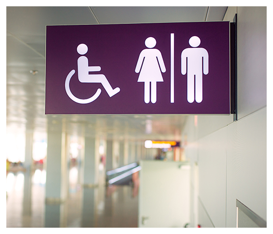 Signalétique handicap accessible et adaptée à vos besoins