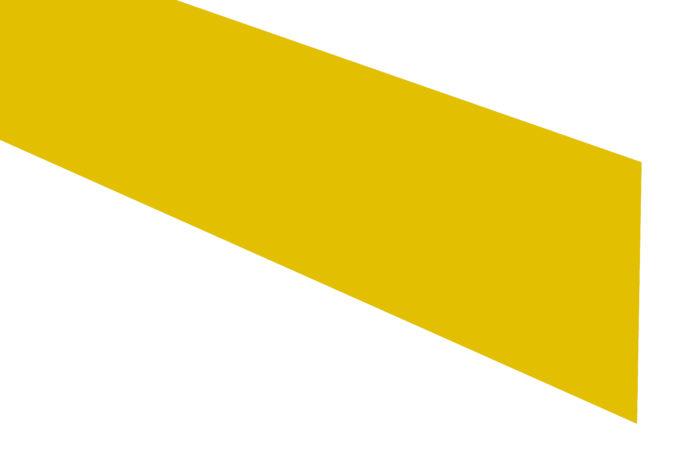 Contremarche-bande jaune-adhésive