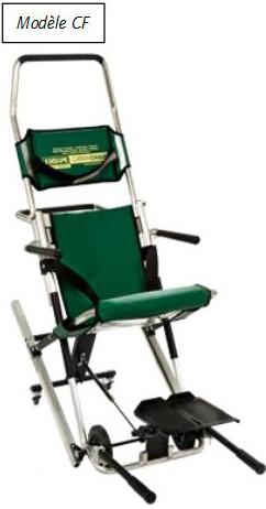 chaise d'évacuation confort CF