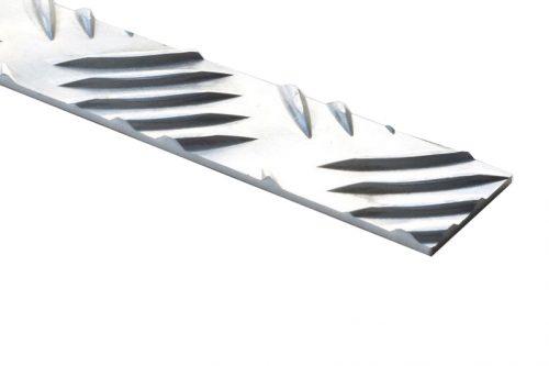 nez de marche aluminium plat P30AL