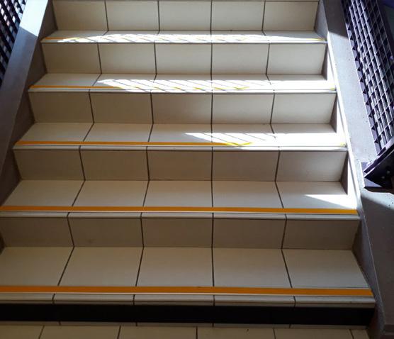 mise en accessibilité des escaliers