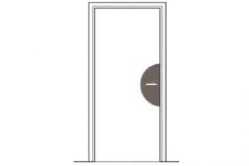 plaque décorative pour poignée de portes