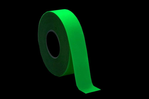 bande antidérapante adhésive photoluminescente