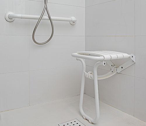 Sièges de douche ou sièges PMR