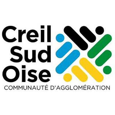 Logo de la communauté d'agglomération Creil Sud Oise